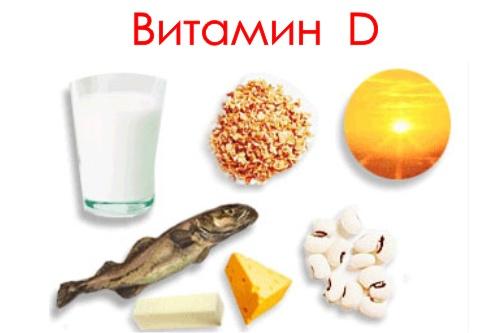 Витамин d где содержится в продуктах