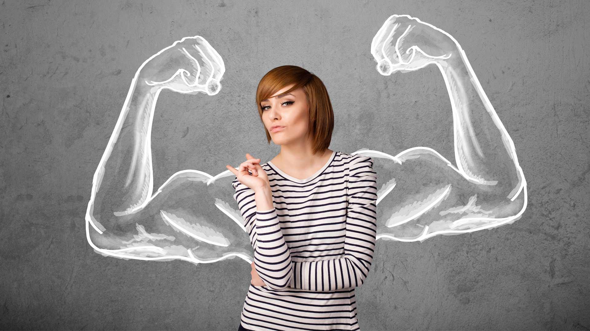 Сильные люди девушки фото