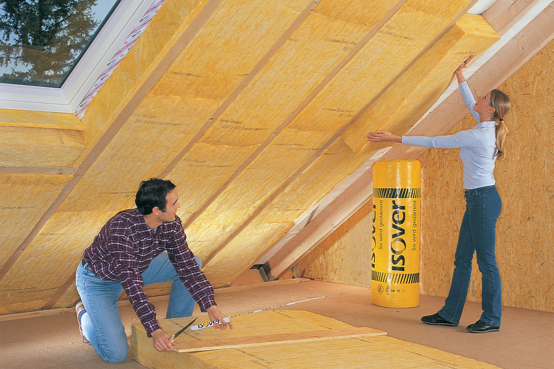 Утепление потолка дачного дома своими руками