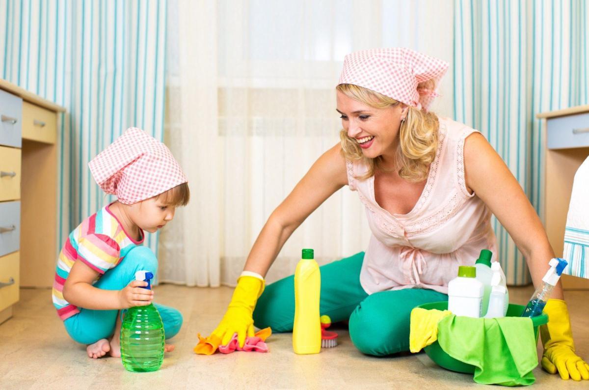 Доброй ночи, картинки уборка в квартире для детей