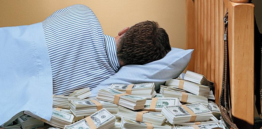 Считал деньги во сне